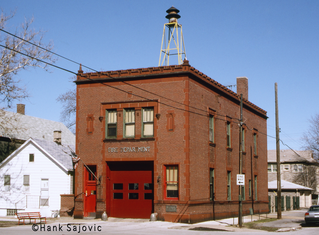 Chicago Fire Department Engine 97's house