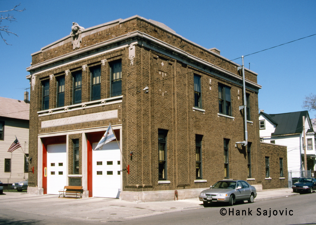 Chicago Fire Department Engine 43's house