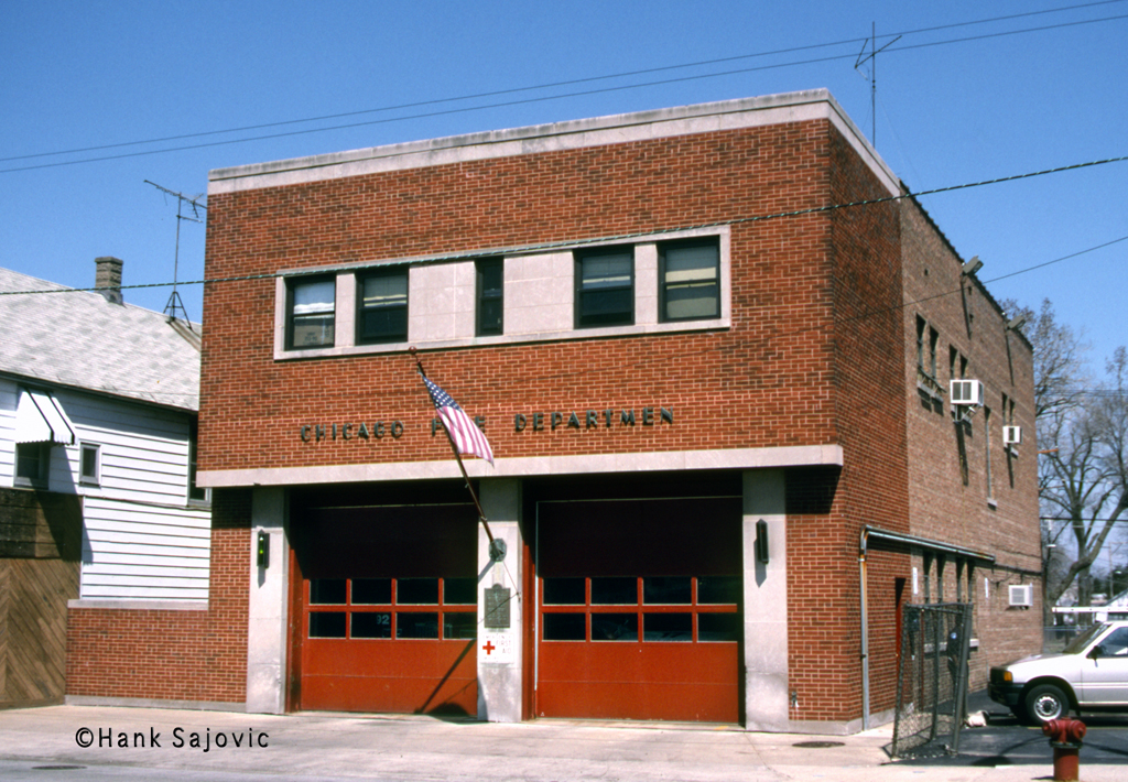 Chicago Fire Department Engine 111's house