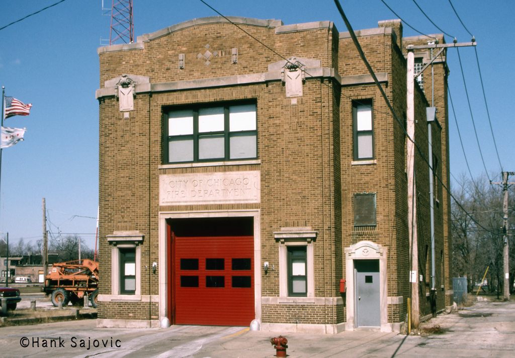 Chicago Fire Department Engine 93's house
