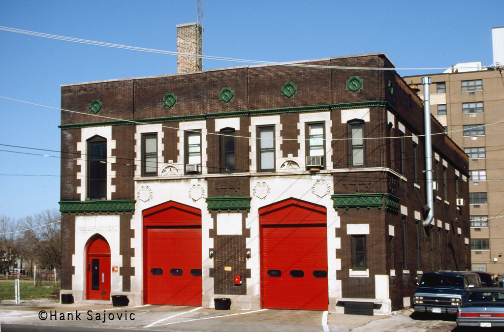 Chicago Fire Department Engine 96's house