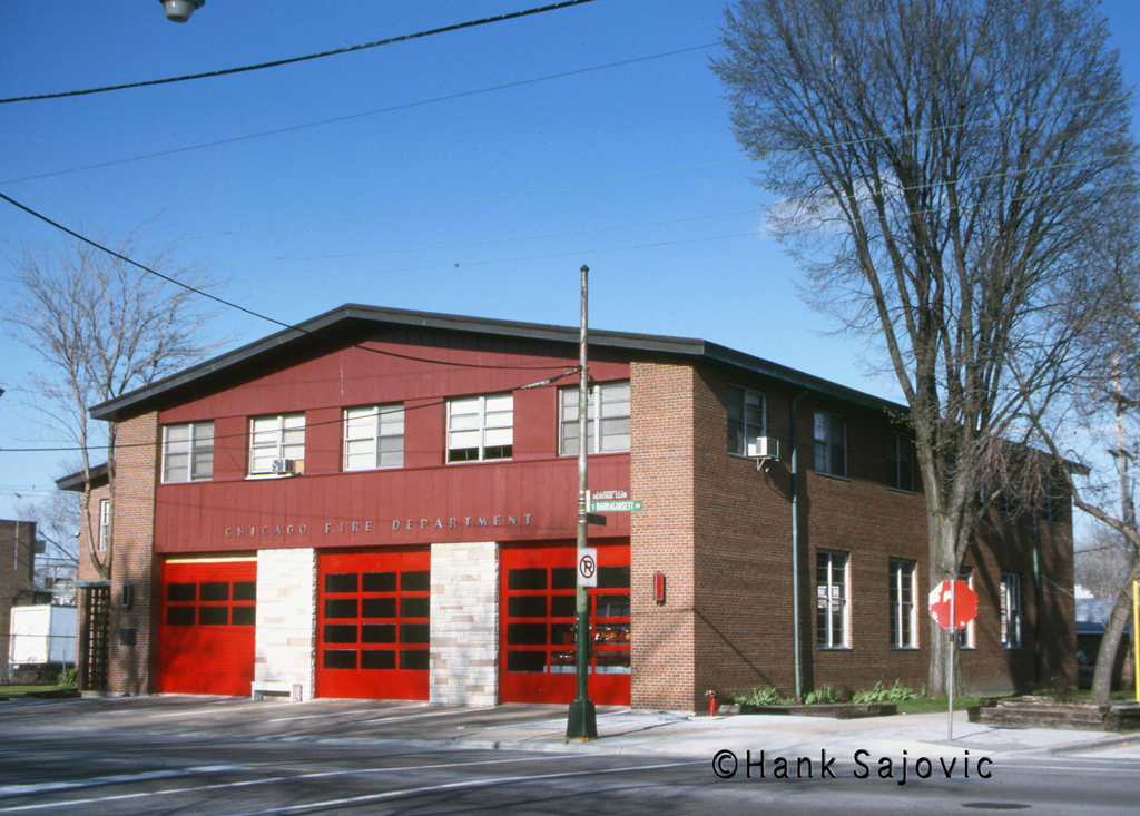 Chicago Fire Department Engine 32's house