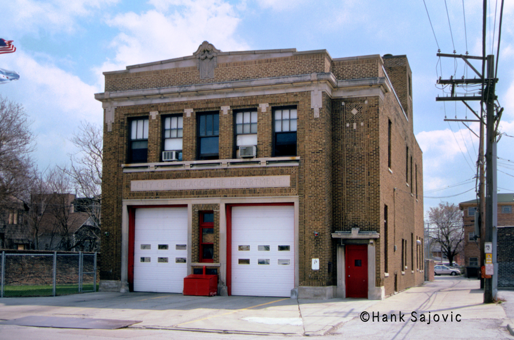Chicago Fire Department Engine 82's house
