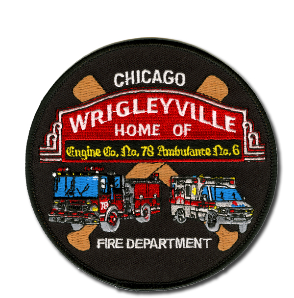 Chicago FD Engine 78's patch
