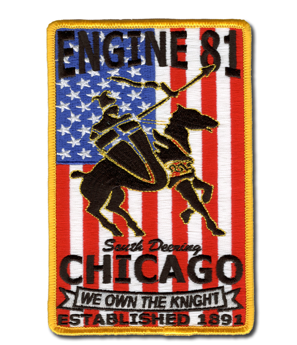 Chicago FD Engine 81's patch