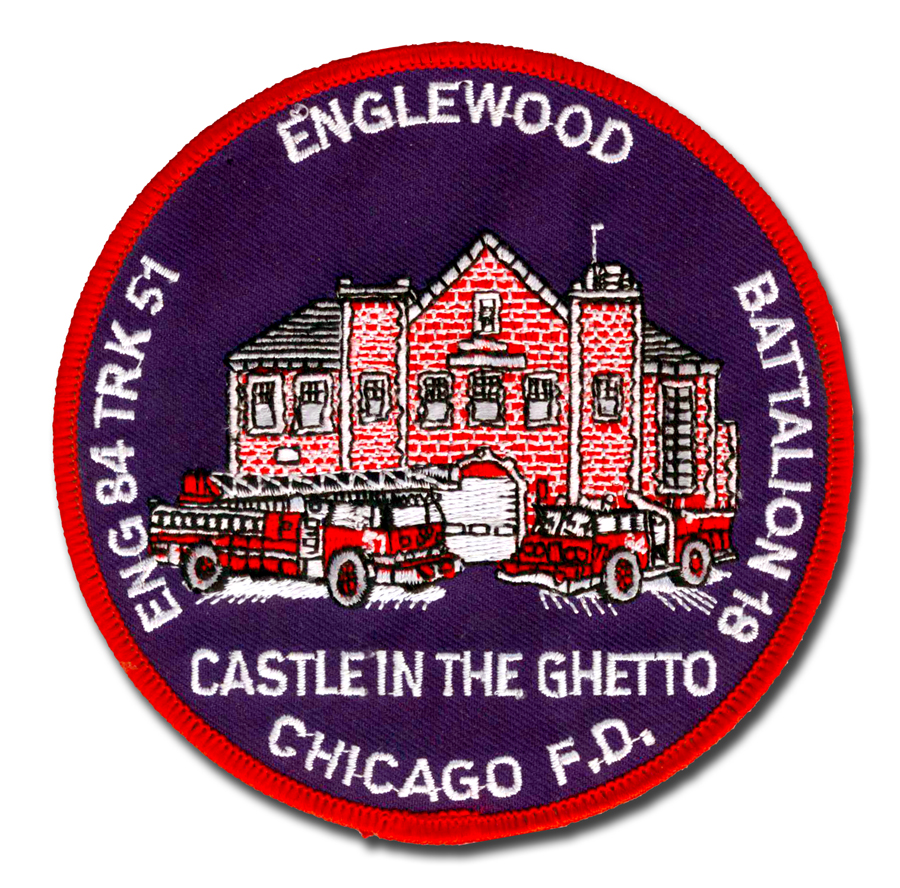 Chicago FD Engine 84 & Truck 51's patch