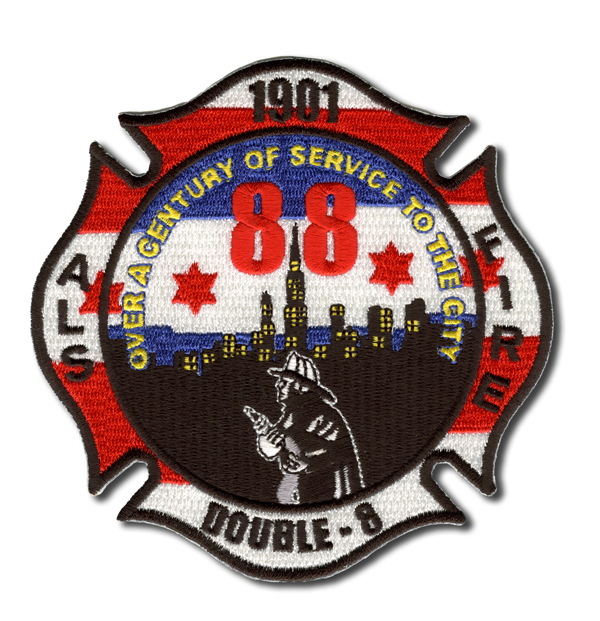 Chicago FD Engine 88's patch