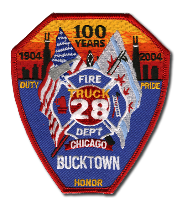 Chicago FD Truck 28's patch