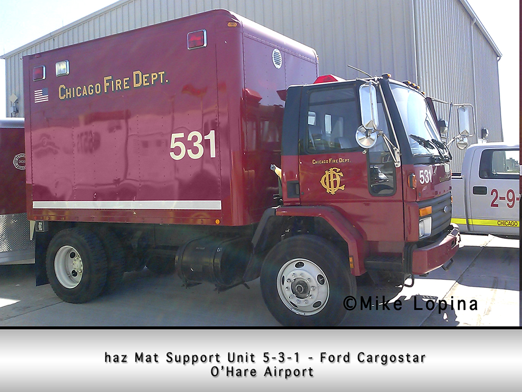 cfd engine 12 chicago area fire departments chicago fd haz mat support unit 5 3 1