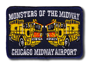 Chicago FD Midway Airport ARFF patch