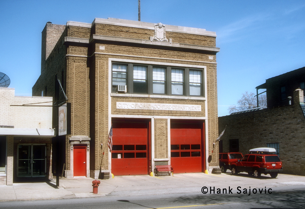 Chicago Fire Department Engine 110's house