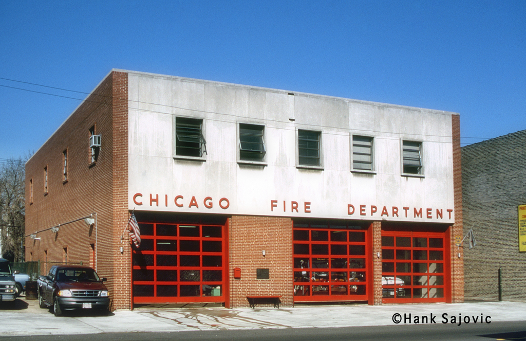 Chicago Fire Department Engine 124's house
