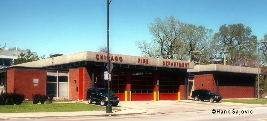 Chicago Fire Department Engine 60's house