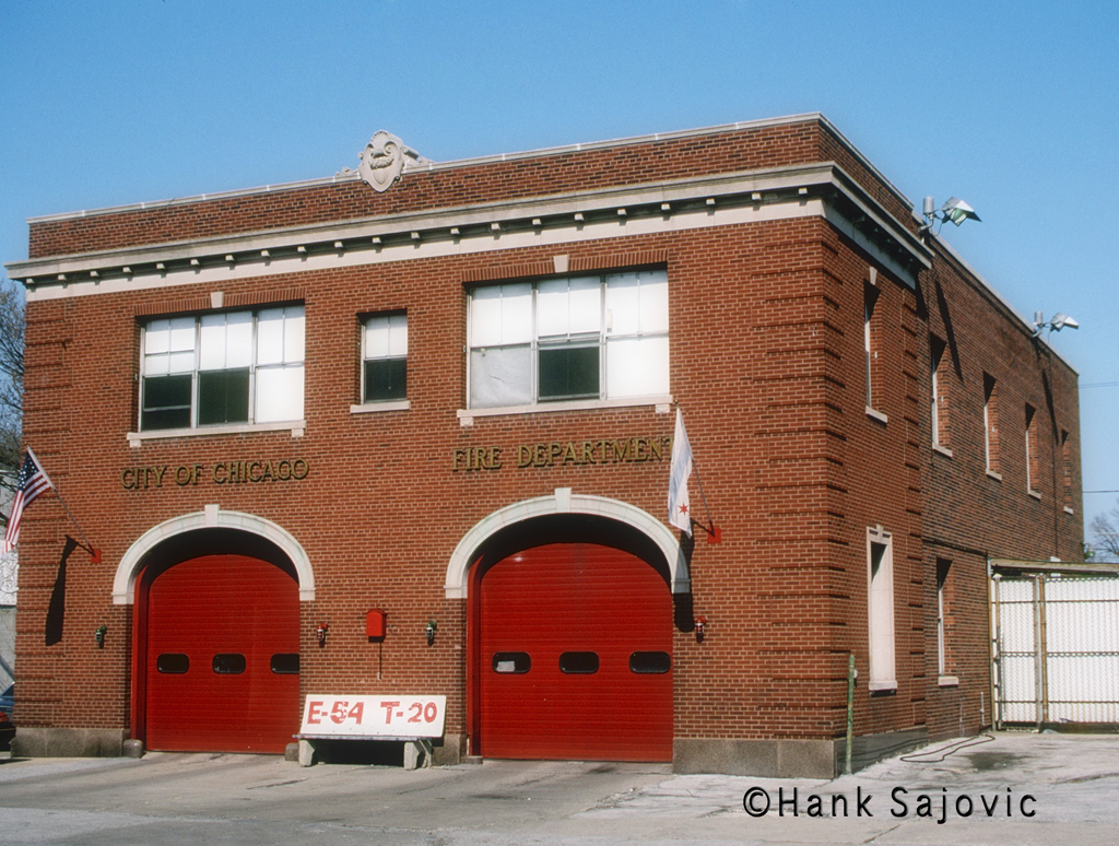Chicago Fire Department Engine 54's house