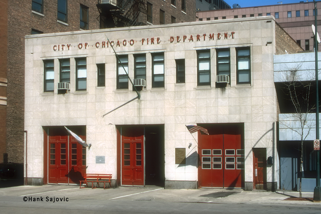 Chicago Fire Department Engine 1's house