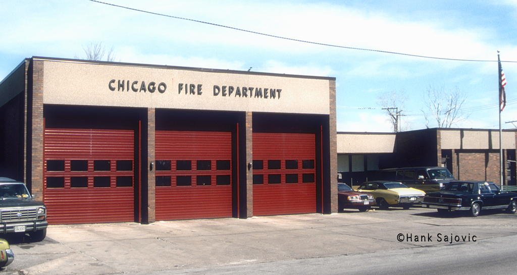 Chicago Fire Department Engine 101's house