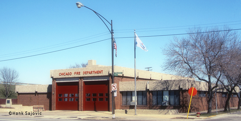Chicago Fire Department Engine 64's house