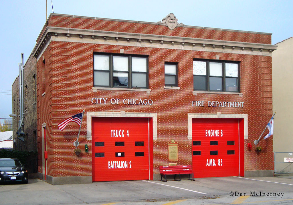 Chicago Fire Department Engine 8's house