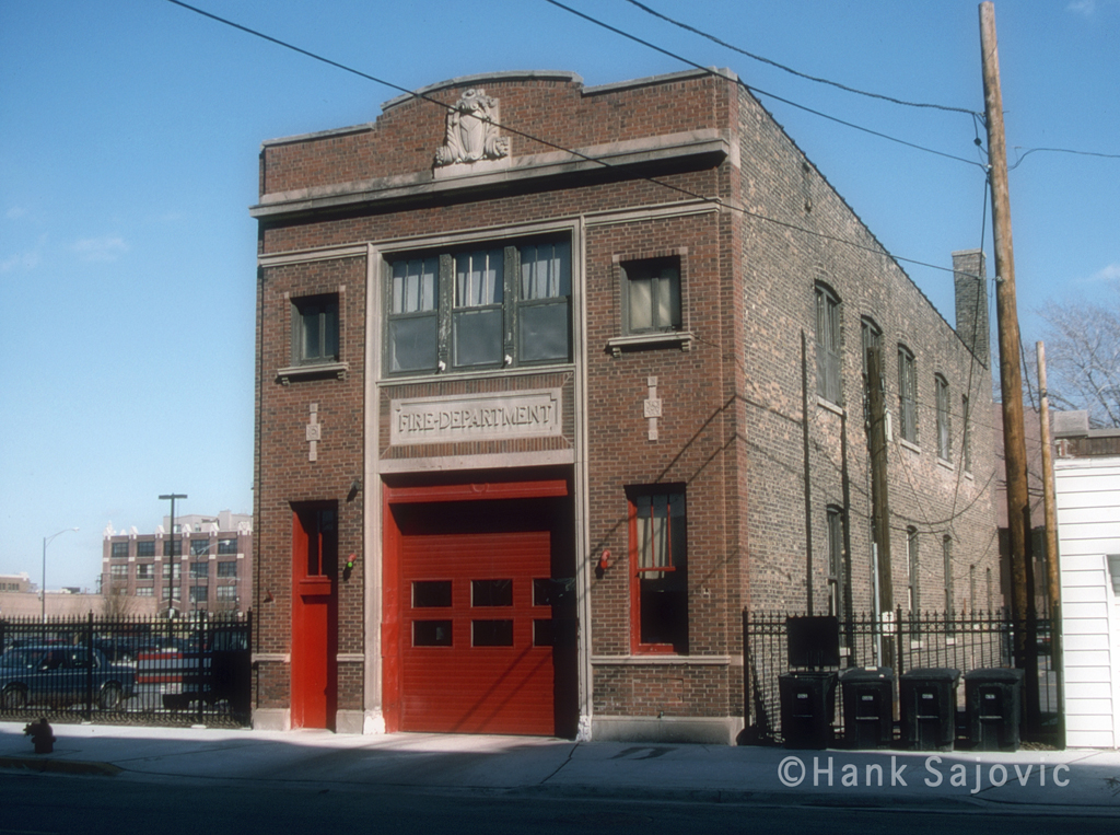 Chicago Fire Department Engine 103's house