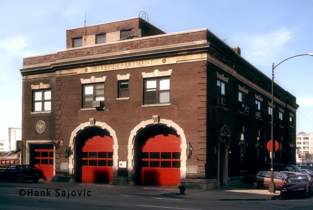 Chicago Fire Department Engine 5's house