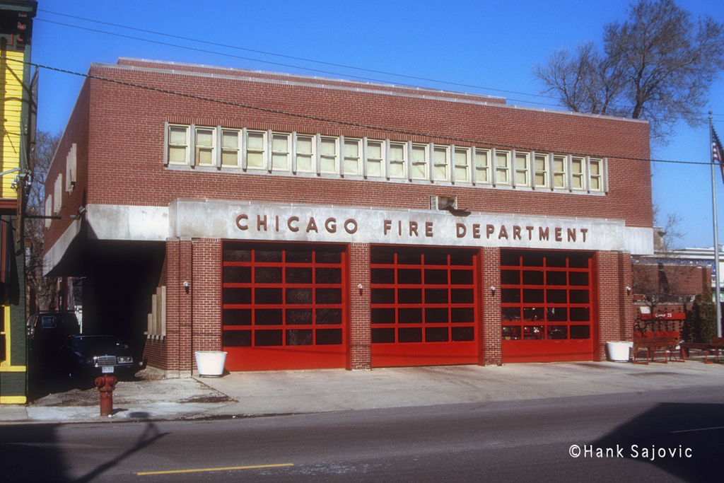Chicago Fire Department Engine 55's house