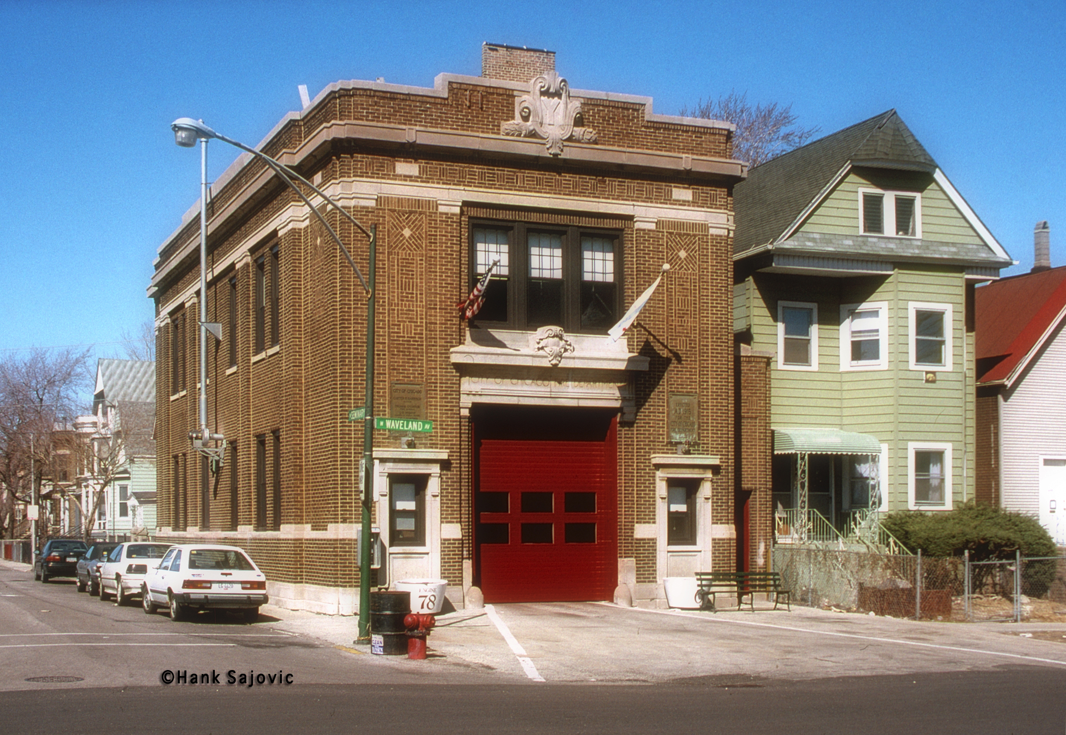 Chicago Fire Department Engine 78's house