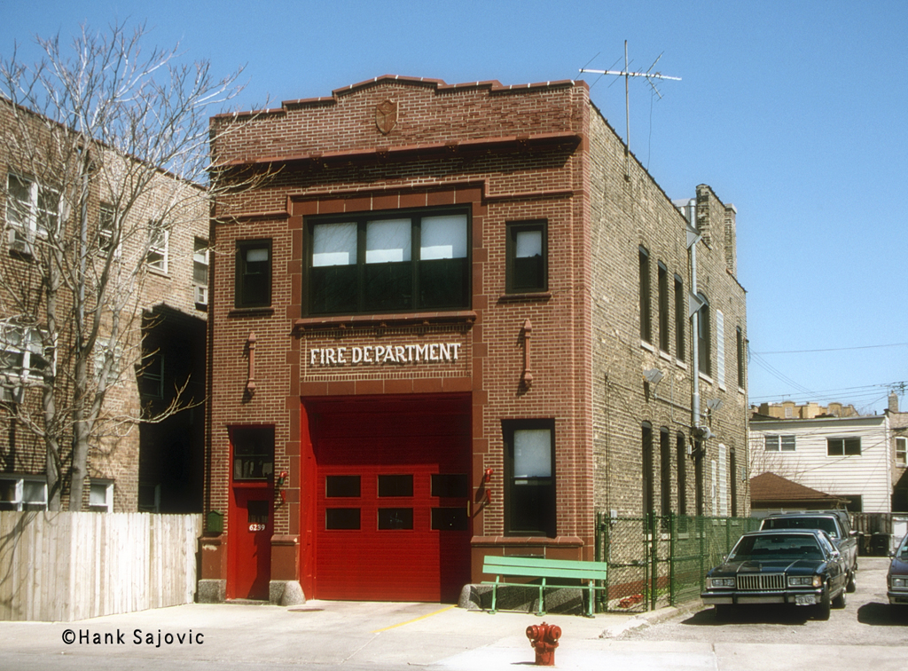 Chicago Fire Department Engine 71's house