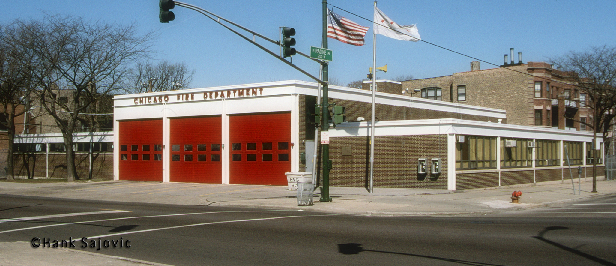 Chicago Fire Department Engine 83's house
