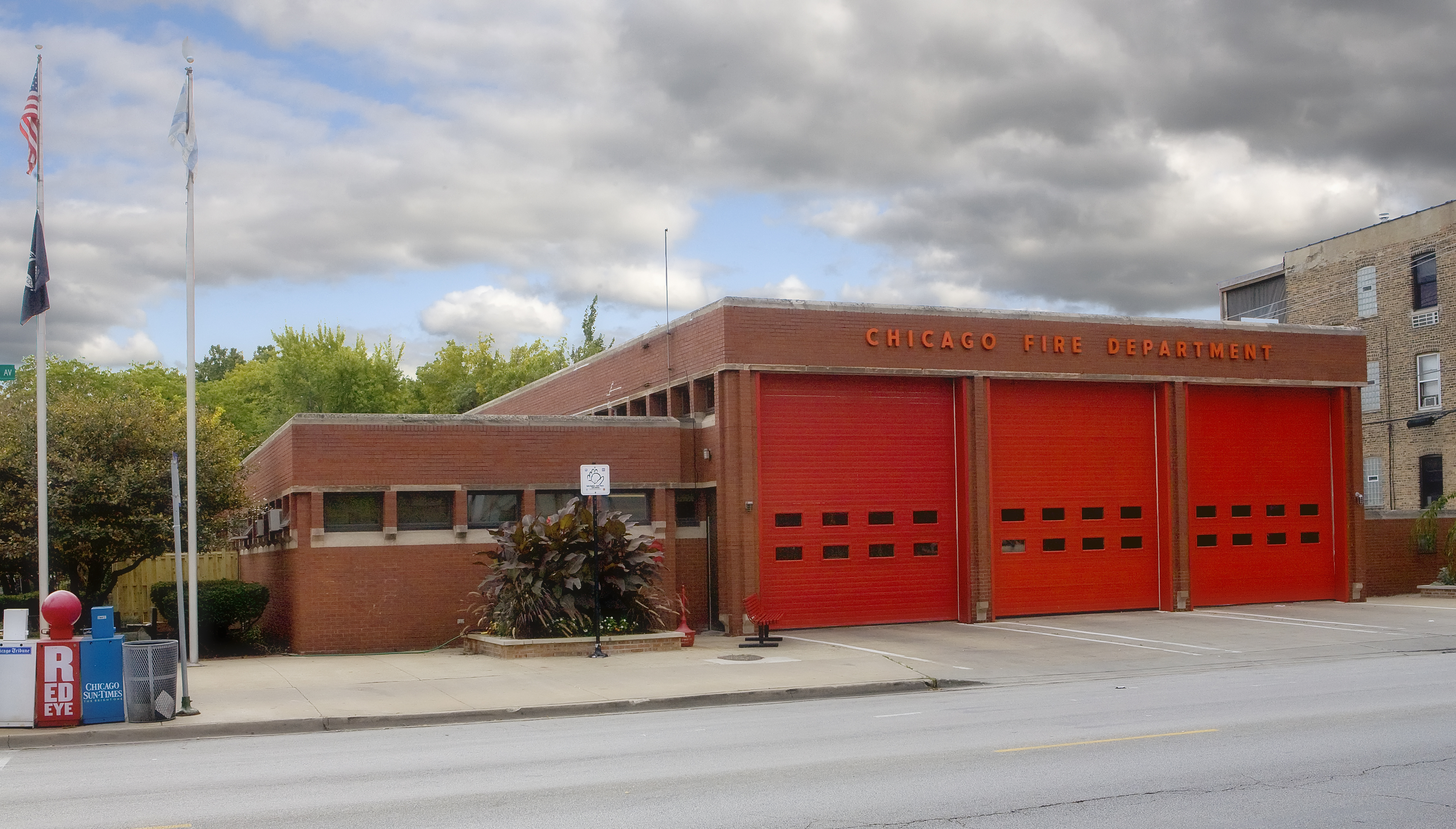 Chicago FD Engine 22's house
