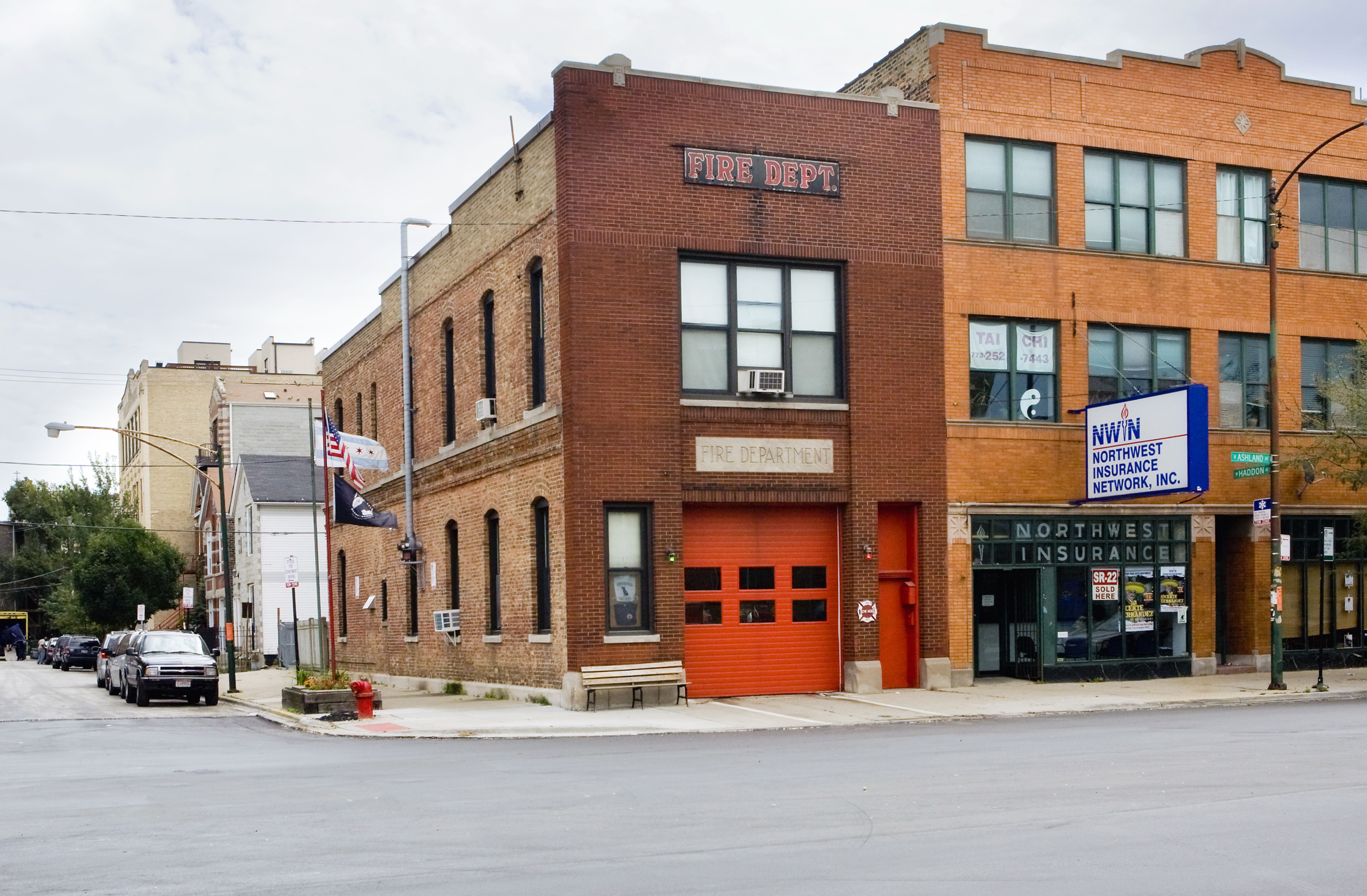 Chicago FD Engine 30's house
