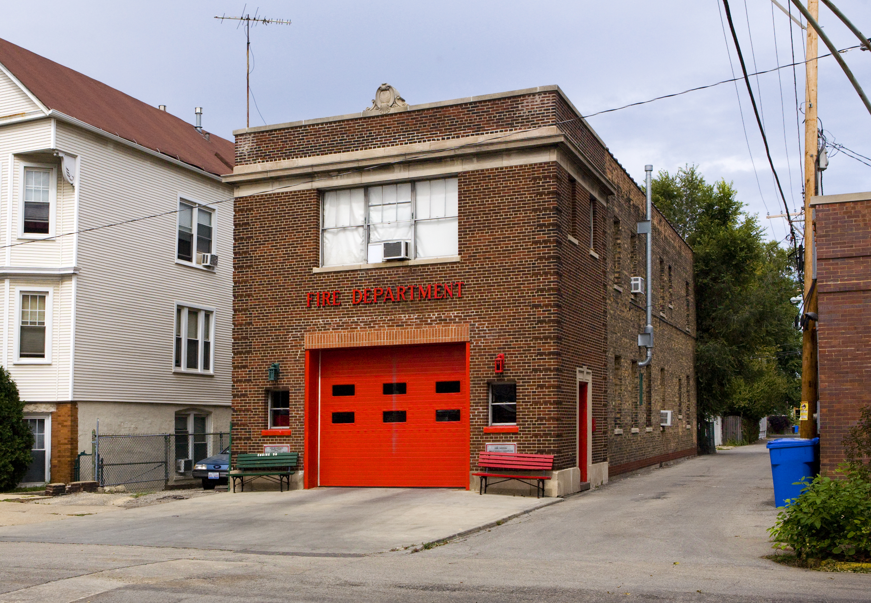 Chicago Fire Department Engine 56's house