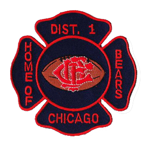 Chicago Fire Department District 1 patch