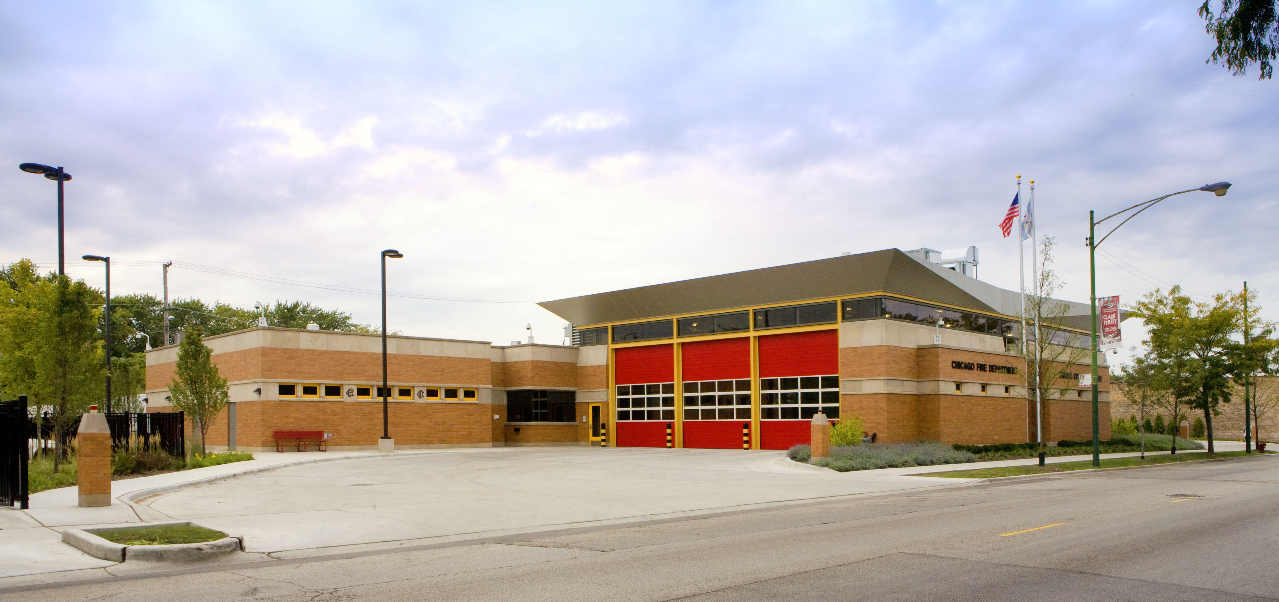 Chicago Fire Department Engine 102's house