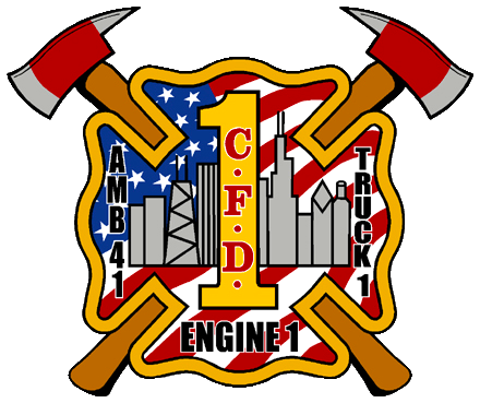 Chicago FD Engine 1's decal