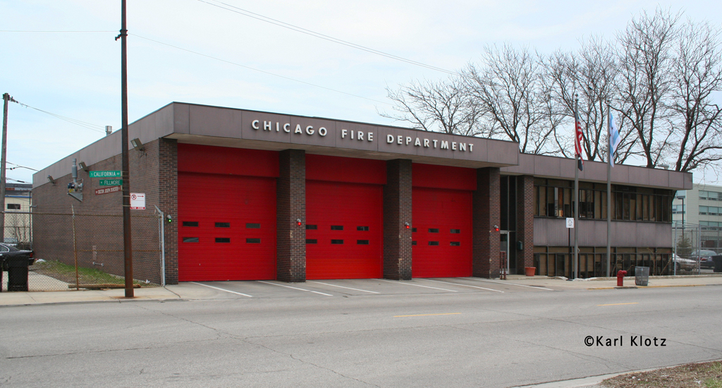 Chicago Fire Department Engine 107's house