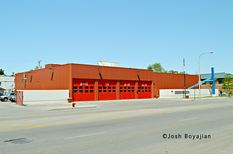 Chicago Fire Department Engine 117's house