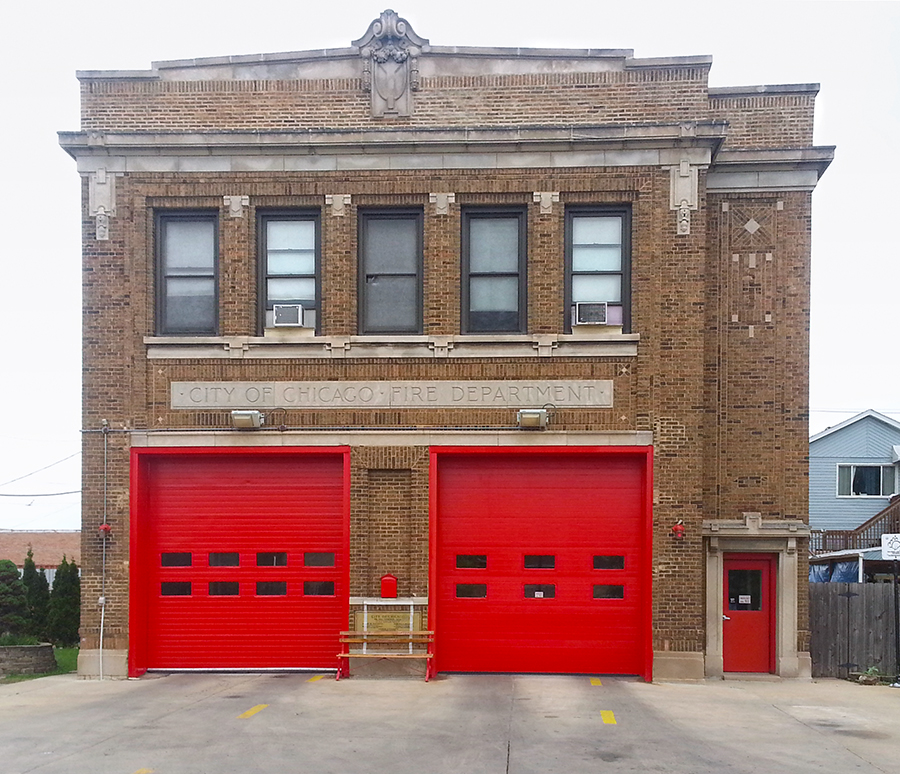 Chicago Fire Department Engine 125's house
