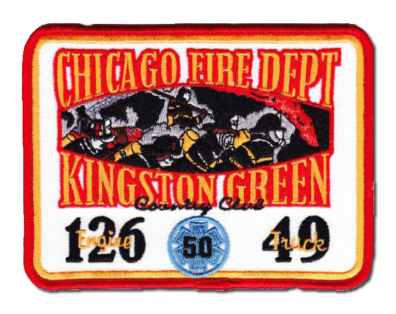 Chicago FD Engine 126 Truck 49 and Ambulance 50 patch