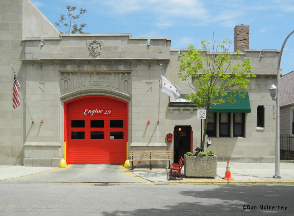 Chicago Fire Department Engine 29's house