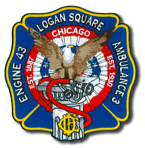 Chicago FD Engine 43's patch
