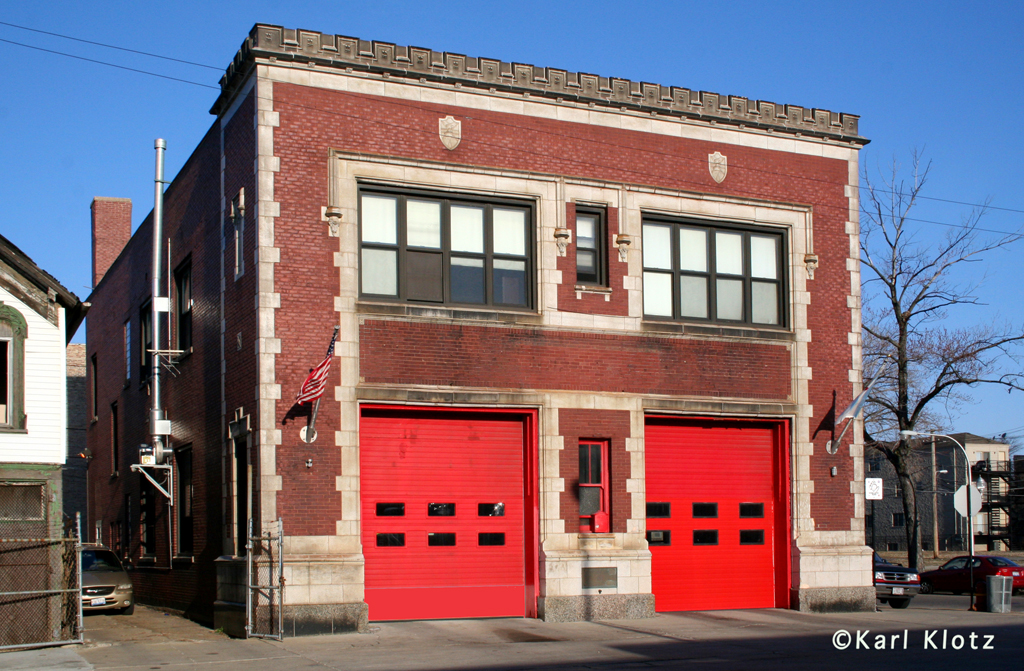 Chicago Fire Department Engine 45's house