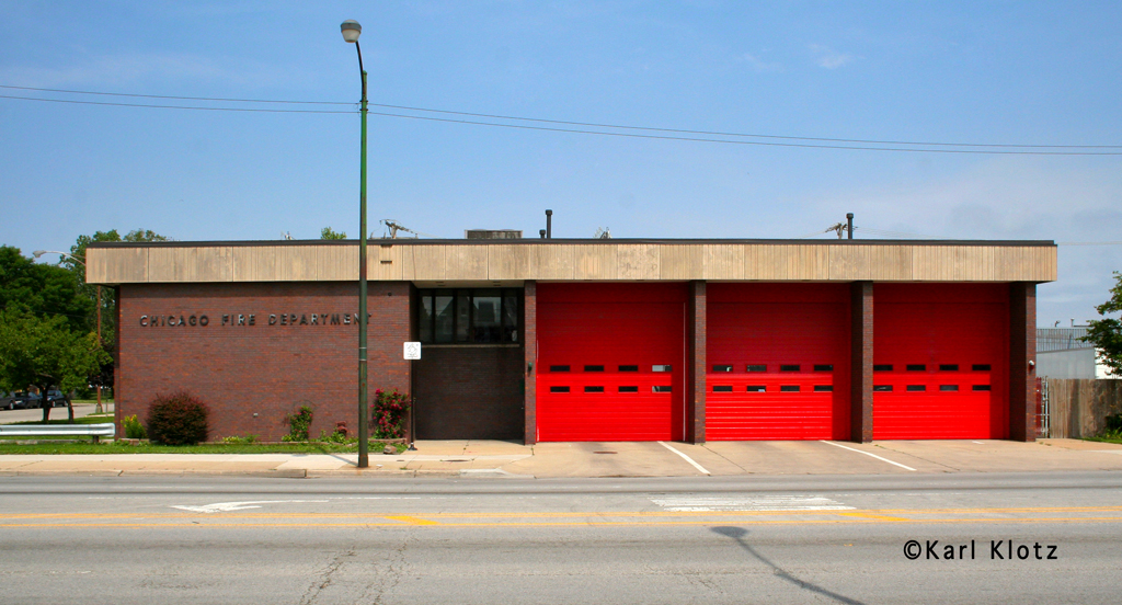 Chicago Fire Department Engine 49's house