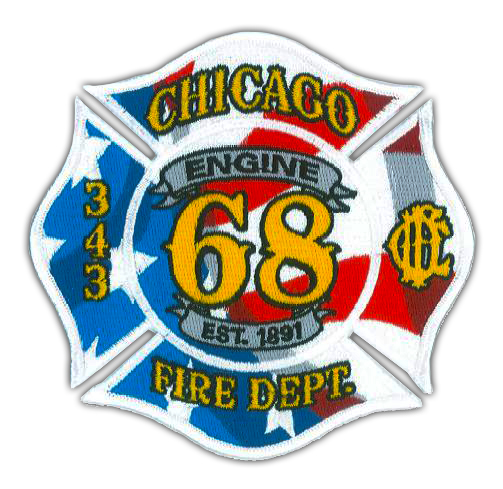 Chicago FD Engine 68's patch