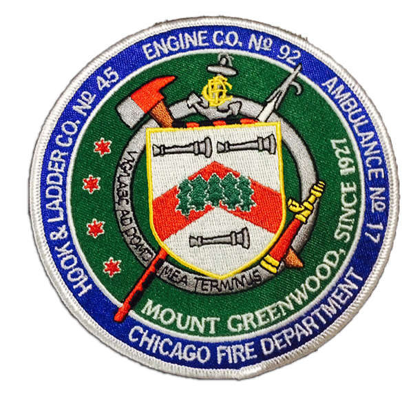 Chicago FD Engine 92's patch