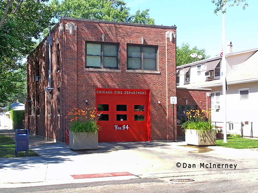 Chicago Fire Department Engine 94's house