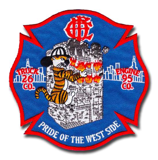 Chicago FD Engine 95 and Truck 26's patch