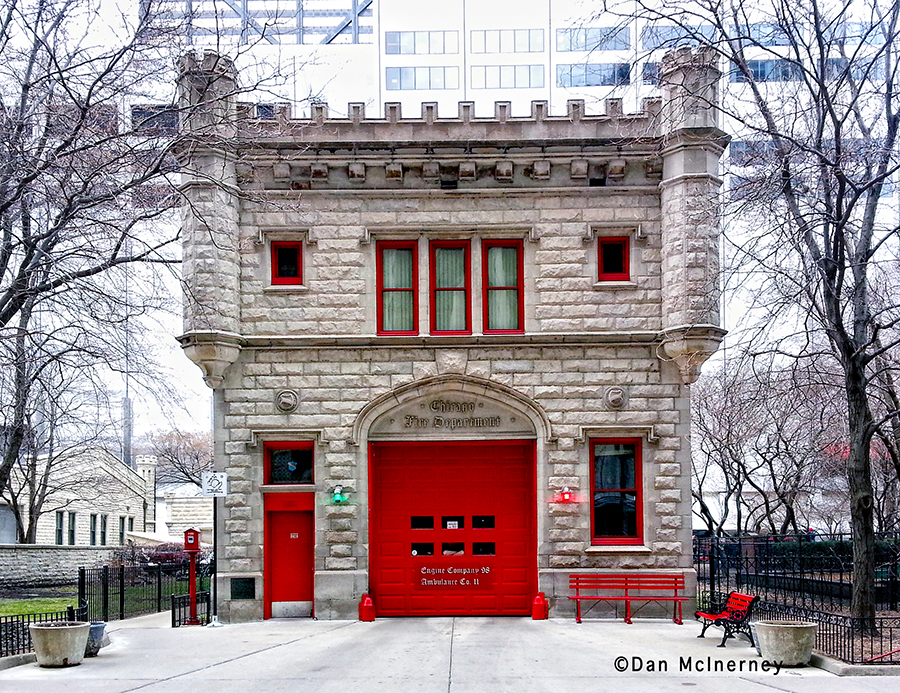 Chicago Fire Department Engine 98's house