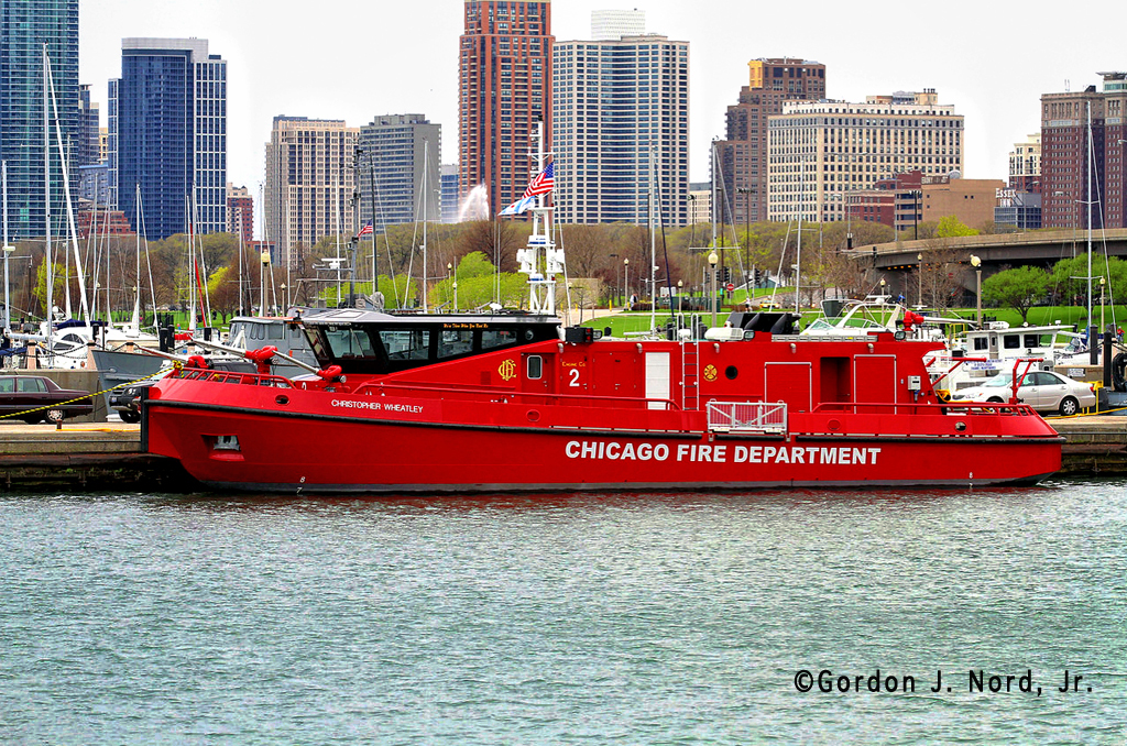 Chicago FD Engine 2 the Christopher Wheatley