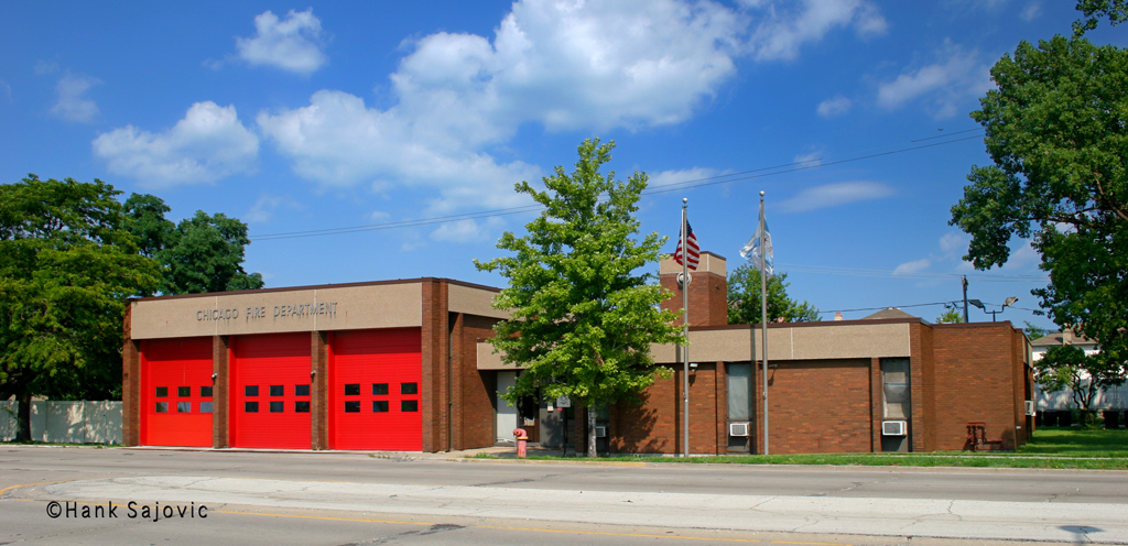 Chicago Fire Department Engine 104's house