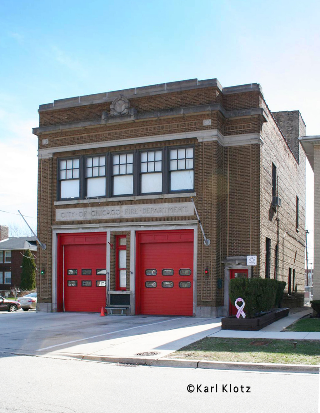 Chicago Fire Department Engine 120's house
